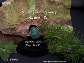 Wyoming Jade Ring RR-1010