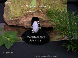 Moonstone Marquis Ring RR-1002