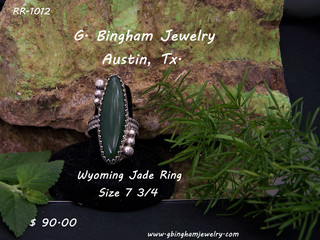 Wyoming Jade Ring RR 1012