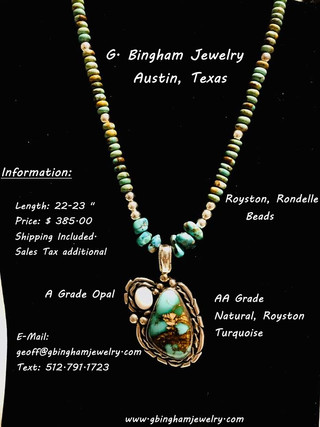 Royston Opal Necklace WN-1091