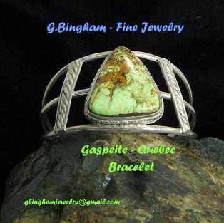 Gaspeite Bracelet ***SOLD***