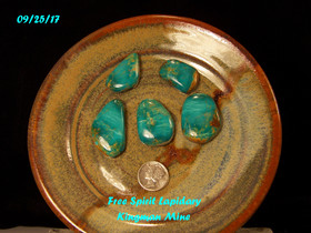 Kingman Mine Turquoise Set