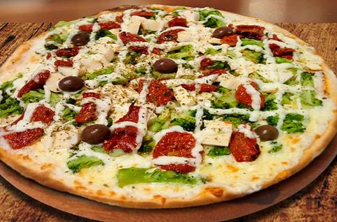 Pizza Brócolis Especial