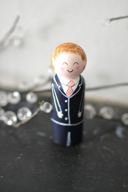 Wedding cake topper - little boy