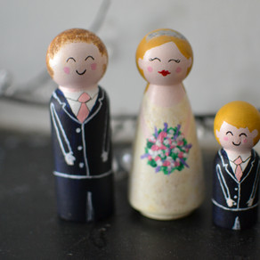 Wedding Cake Toppers: Trina - July 2015