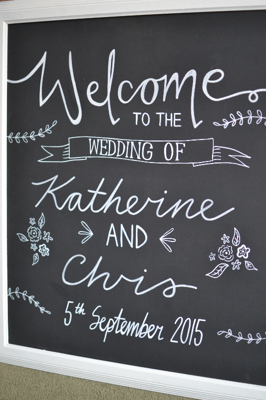 Wedding chalkboards -Katherine & Chris - August 2015 (1)_edited