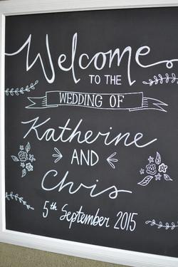 Wedding chalkboards -Katherine & Chris - August 2015 (1)_edited