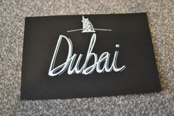 Detailed Wedding Table Number Signs
