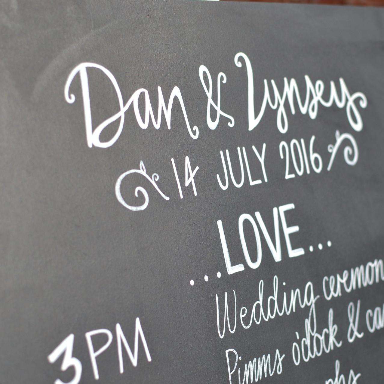 Dan & Lynsey Chalkboards - July 2016 (24)