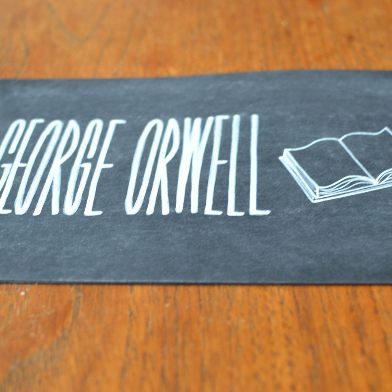 Chalkboard table number signs - Emm2