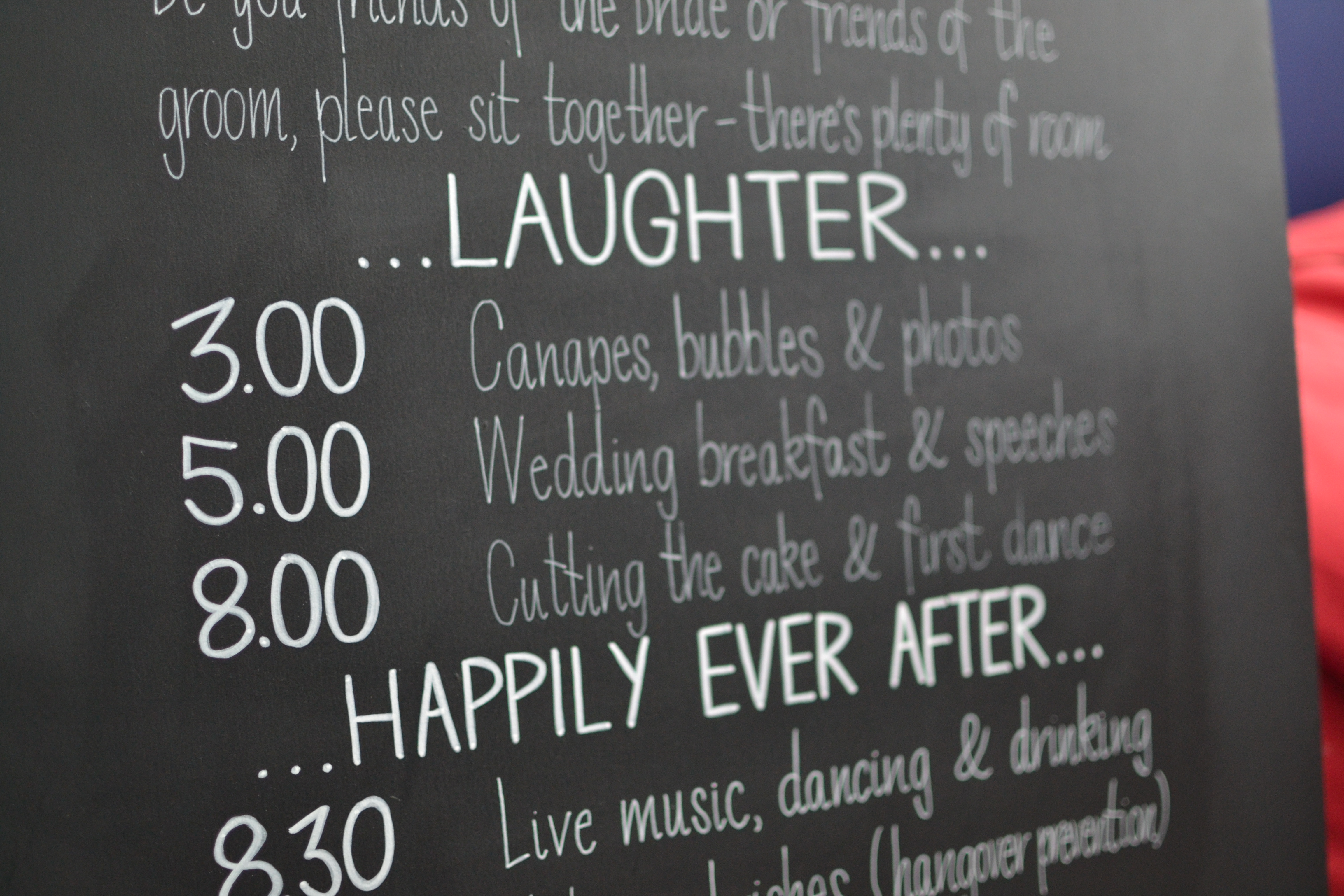 Claire & Nigel 2016 - Wedding Chalkboards - DreamalittleHANDMADE (12)