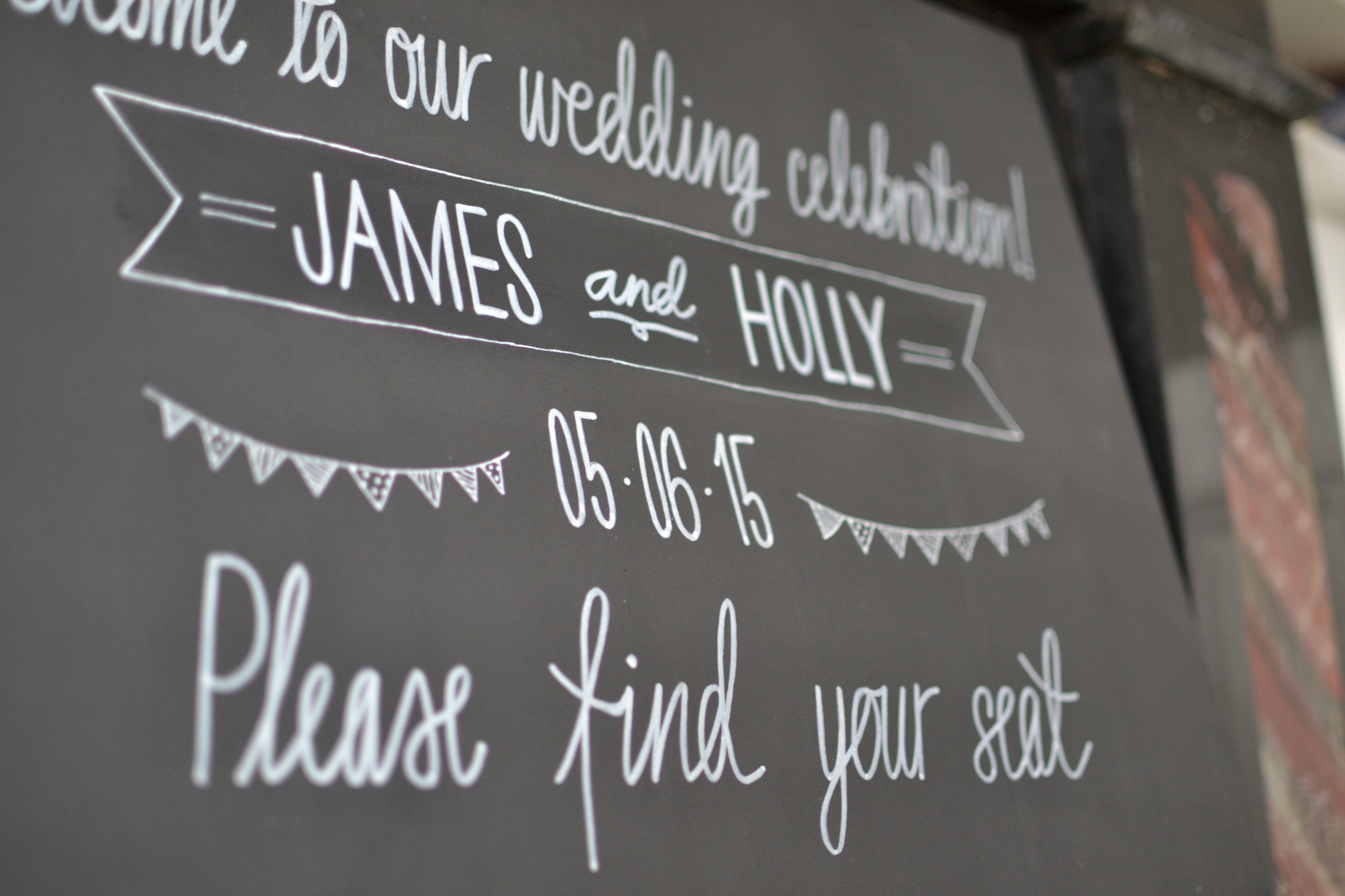 Detail of Bunting Table Plan