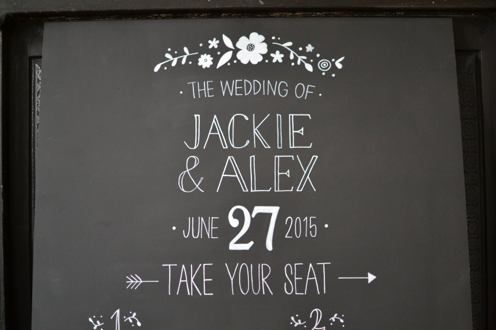 Bespoke Wedding Table Plan