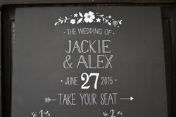 Bespoke Wedding Table Plan