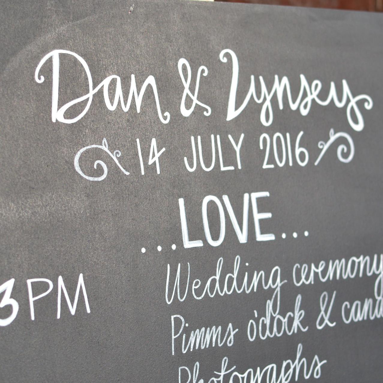 Dan & Lynsey Chalkboards - July 2016 (14)