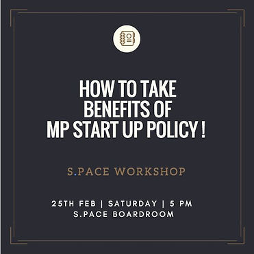 MP Start Up Policy Workshop