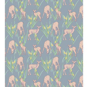 Fawns and snowdrops perfect for