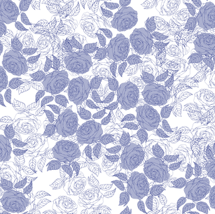 Roses in Blue