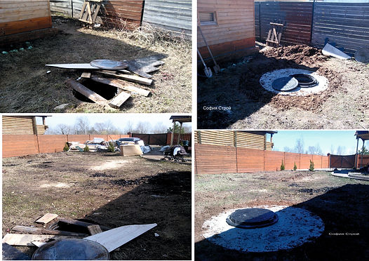 колодец для канализации