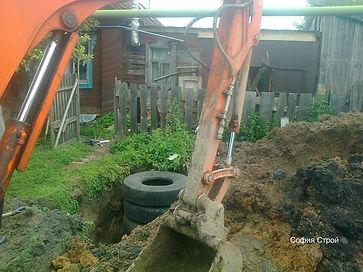 выгребная яма из авто резины
