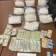 10 kilos of meth seized