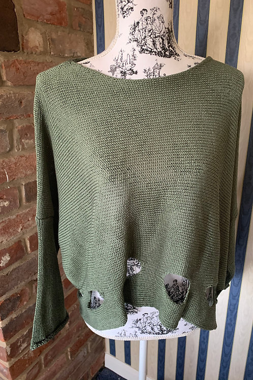 Cotton Jumpers with Holes at the base