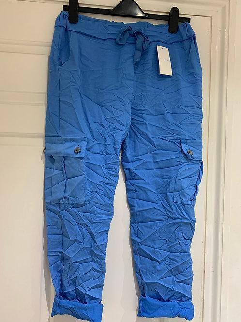 Magic Stretch Cargo Trousers