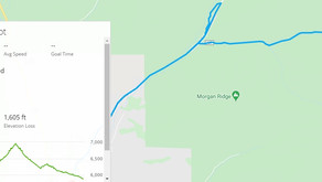 Shared Tater Tot Route: Ketchum, Idaho