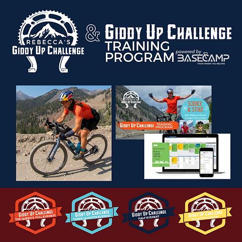 Giddy Up Registration + Training Program
