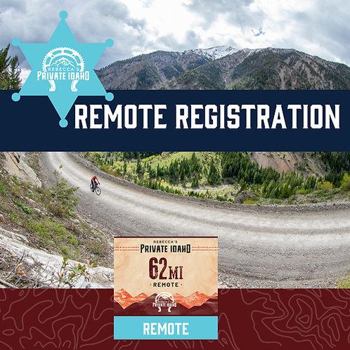 RPI REMOTE Registration