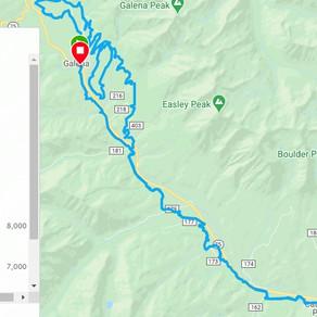 Shared QSR Route: Ketchum, Idaho