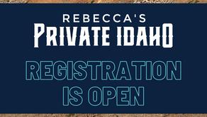 Rebecca's Private Idaho Opens Registration For 2021