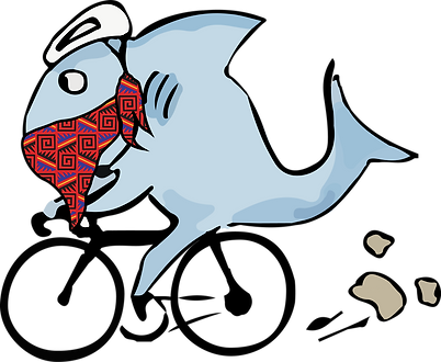 Gravel Shark_logo_with mask_red.png