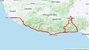 Shared Route: Los Angeles, California