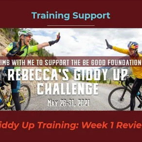 Week 1 Training Review