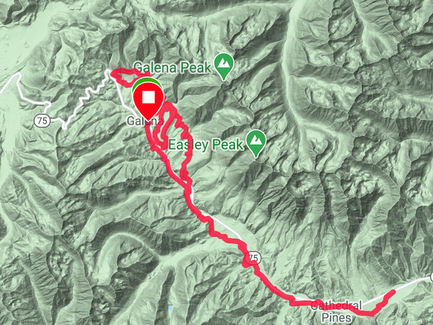 Baked Potato Route Map