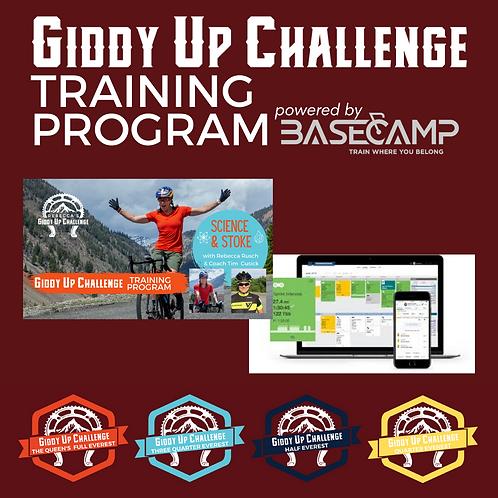 Giddy Up Training Program