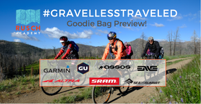 Rusch Academy: #GravelLessTraveled Goodie Bag Preview!