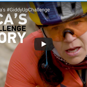 THE STORY:  Rebecca's Giddy Up Challenge 2020