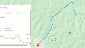 Shared French Fry Route: Ketchum, Idaho