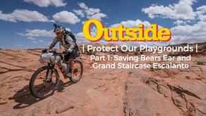 #ProtectOurPlaygrounds at Bears Ears with OutsideTV