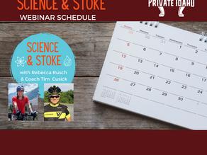 Science & Stoke Schedule