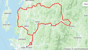Shared QSR Route: Essex, Vermont