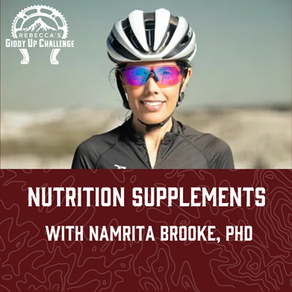 Nutrition Supplements- with Namrita Brooke, PhD