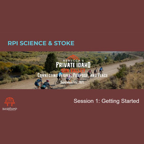 Science & Stoke Session 1: Getting Started - Recording