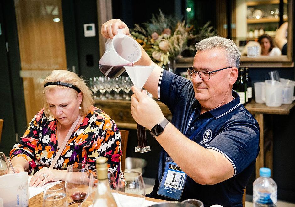 Wine Blending Game