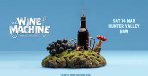 Hunter Valley Wine Machine 14/03/2020