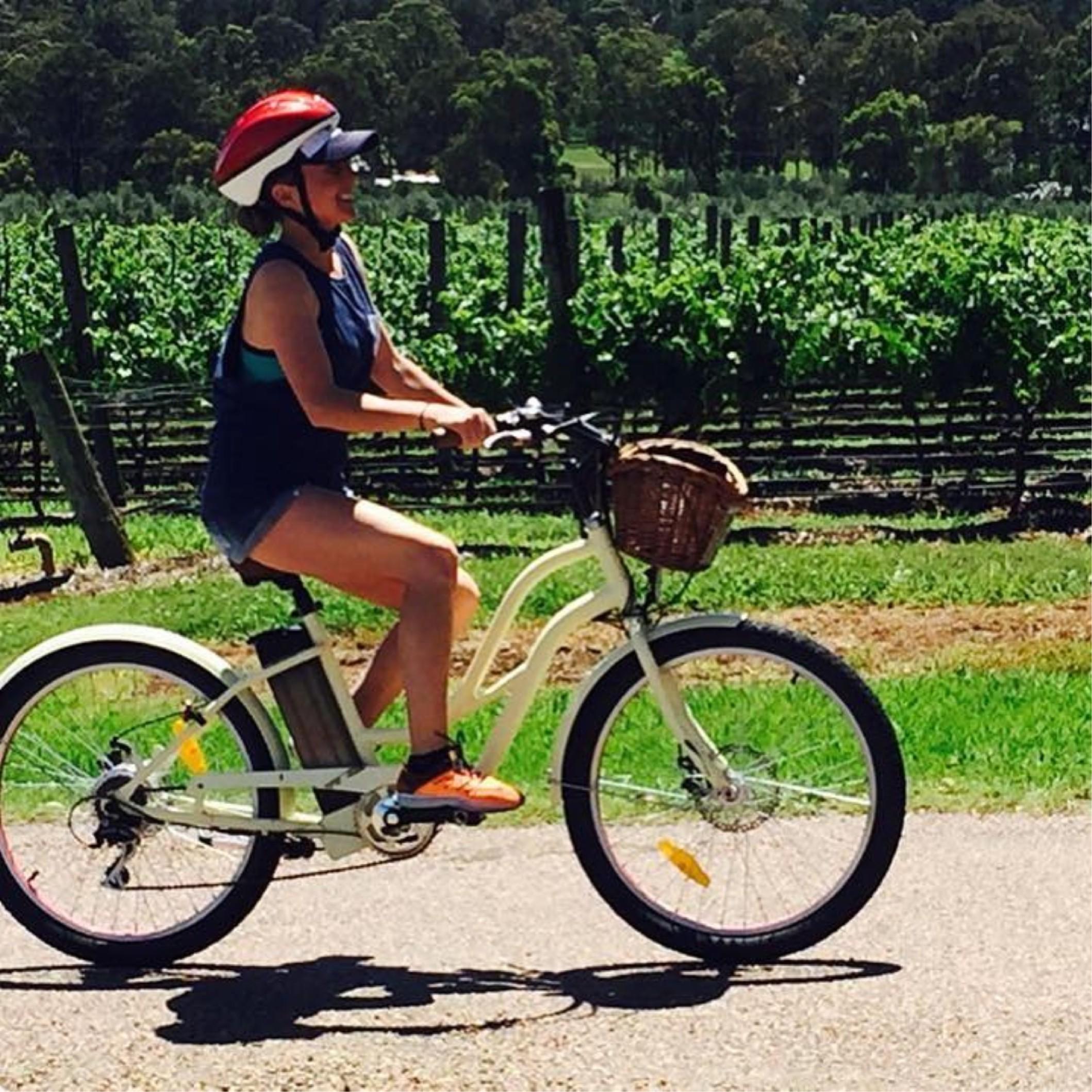 Electric bike hire hunter valley