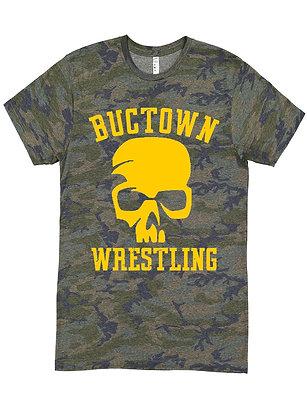 T-Shirt | Buctown Skull [Camo]