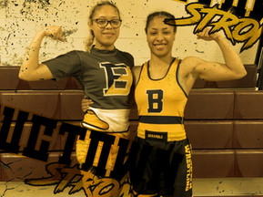 Safforld Sisters Podium at NJSIAA Girls Wrestling State Tournament